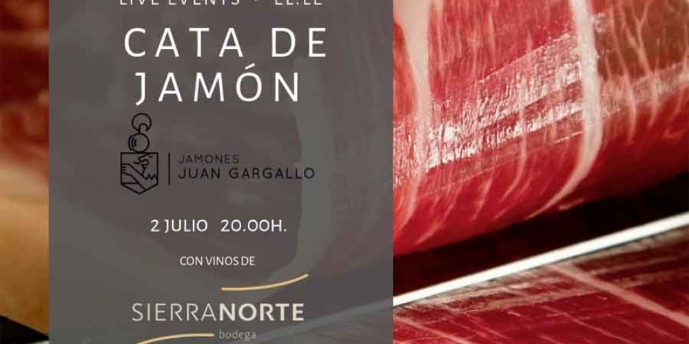 Cata de jamón y vino 02-06-2018