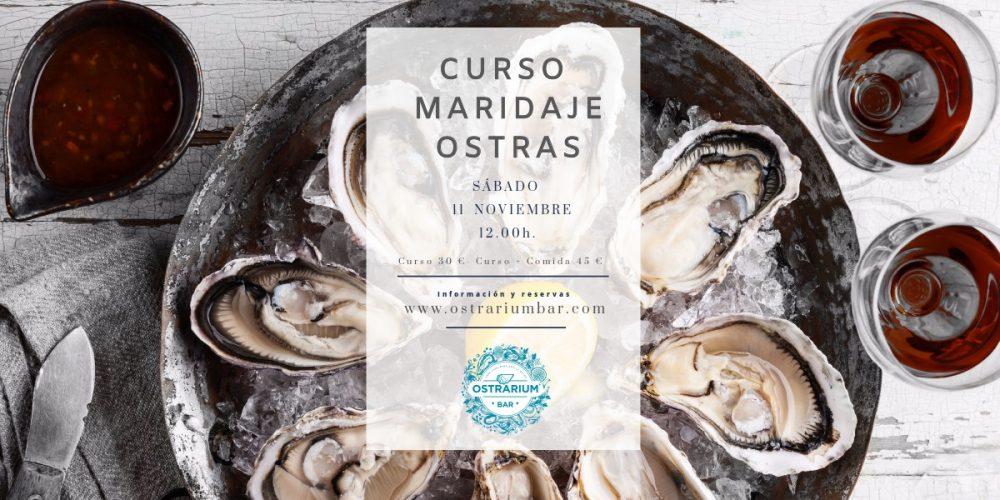 CURSO CATA MARIDAJE OSTRAS 11-Noviembre-2017