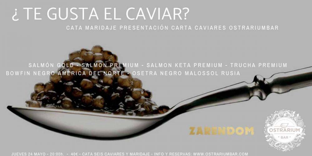 Cata Maridaje de Caviar 24-05-2018
