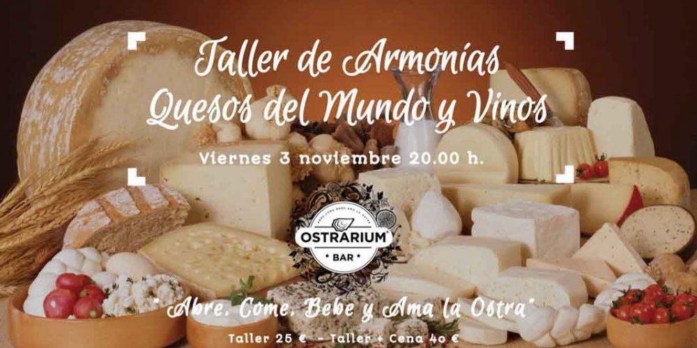Taller de quesos y vinos 3- noviembre-2017