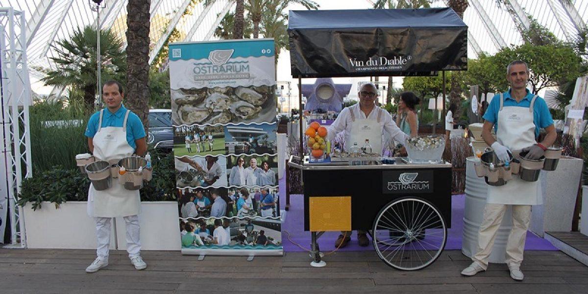 Carro de ostras