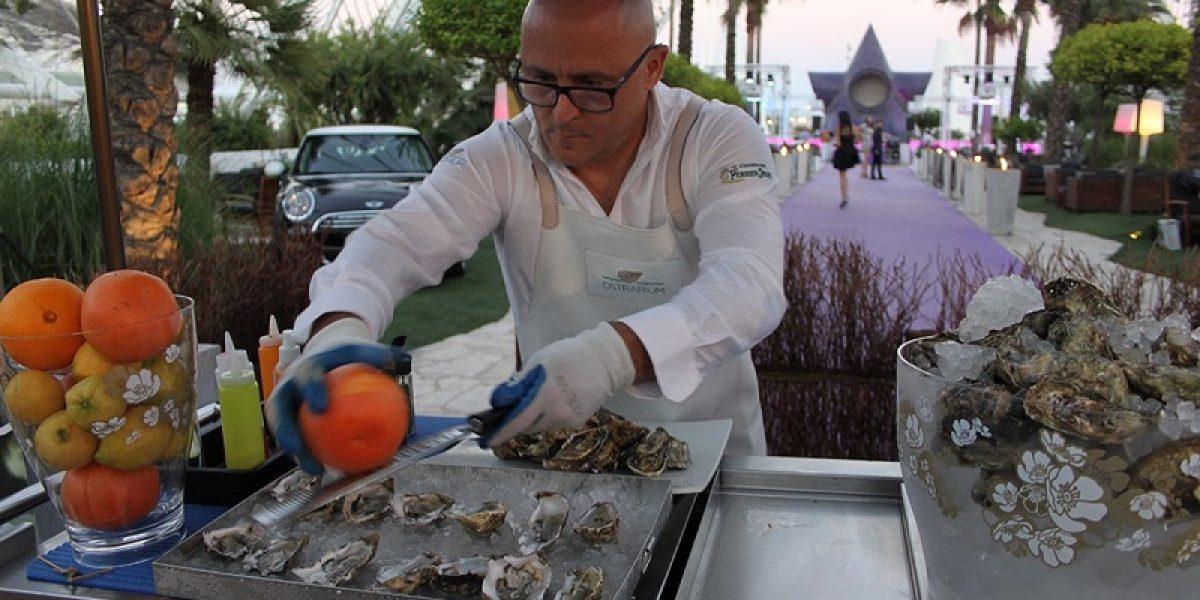 Barra ostras