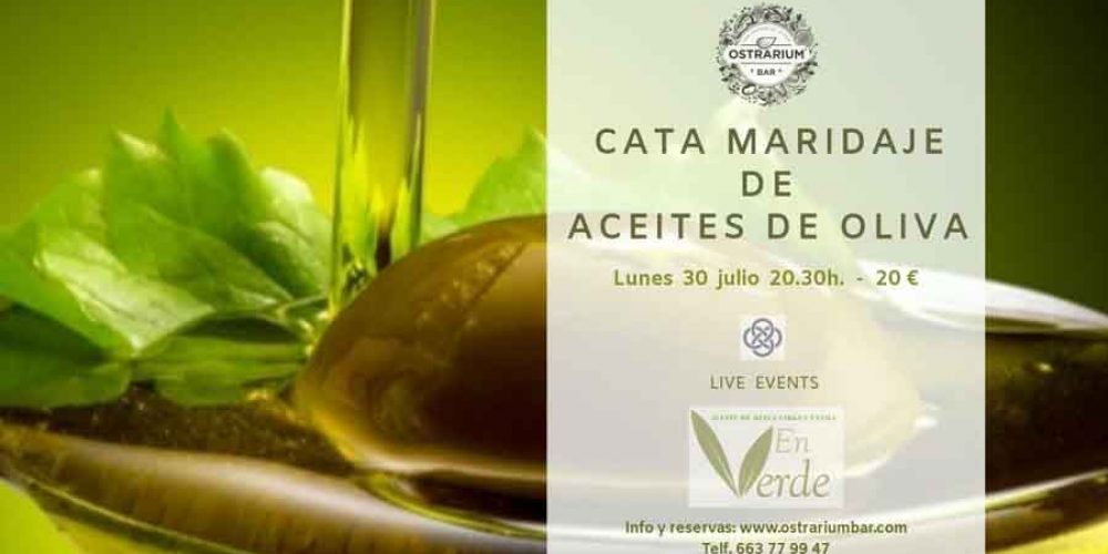 CATA DE ACEITES DE OLIVA 30-07-2018